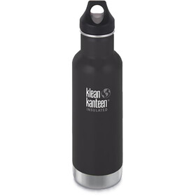 Klean Kanteen TKWide Bottle with Cafe Cap 592ml Vacuum Insulated shale black (matt)